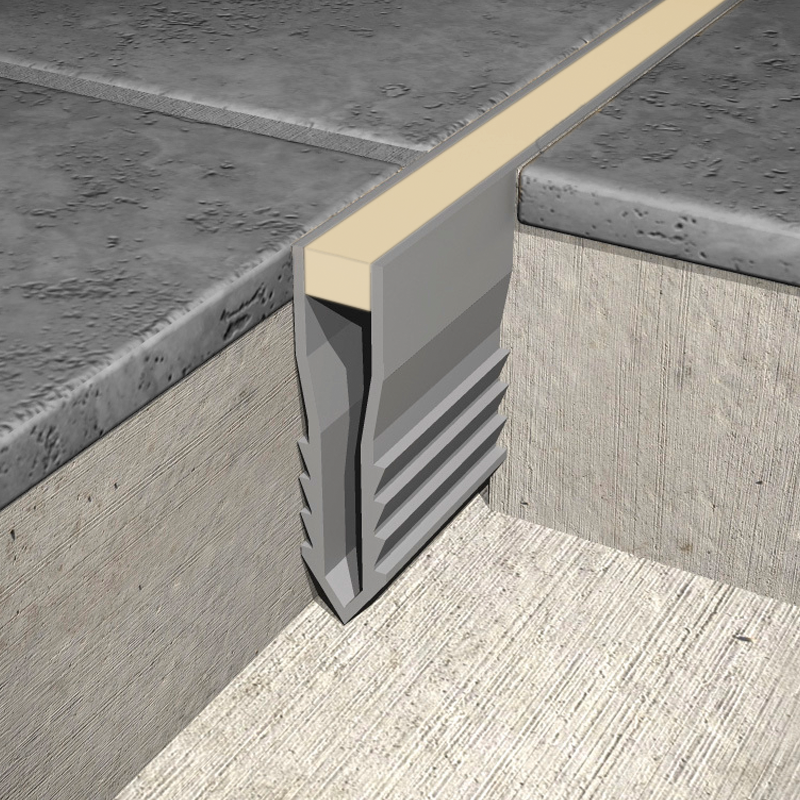 Expansion Joint Tools : Genesis p v c plastic screed expansion joint m beige