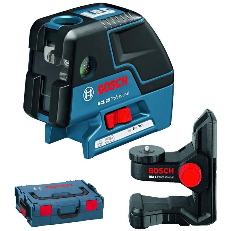 New bosch gcl25 combi laser 0601066b03 gcl 25 bm1 in l for Trepied pour laser bosch