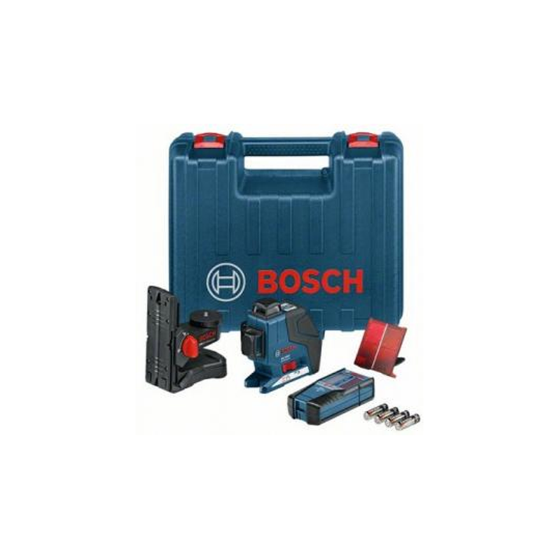 new bosch gll 3 80 p bm1 lr2 tiling laser in carry case 0601063303 buy tiling tools online. Black Bedroom Furniture Sets. Home Design Ideas