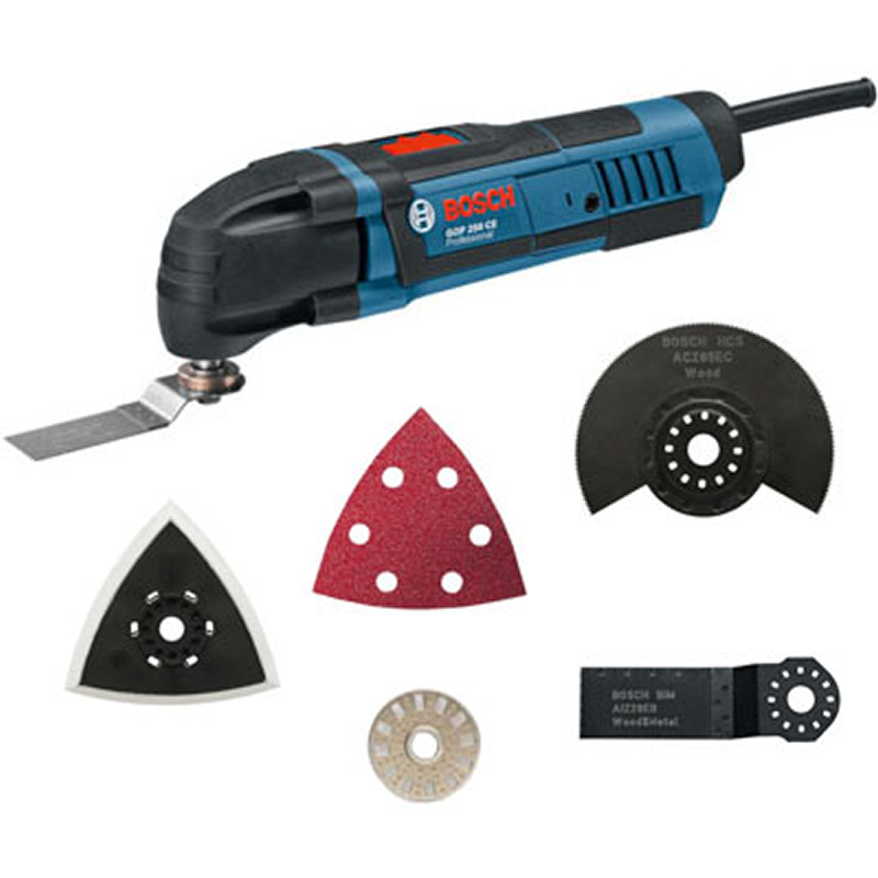 bosch gop 250ce multitool with 8 accessories 110v 1134 buy corded power tools online. Black Bedroom Furniture Sets. Home Design Ideas