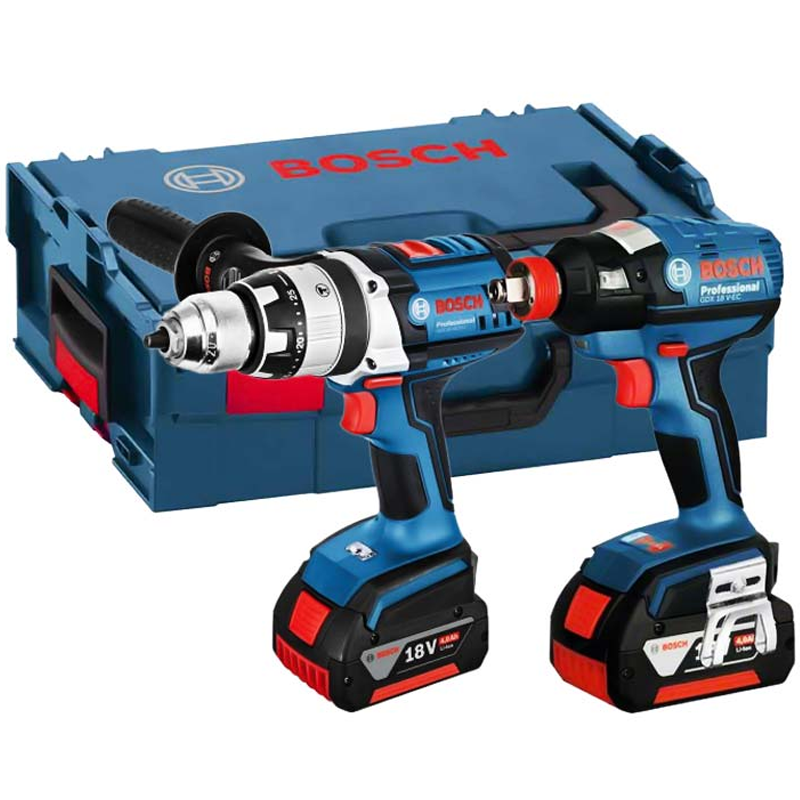 new bosch gsb 18ve 2li gdx 18v ec cordless combi drill and impact driver 5111 buy cordless. Black Bedroom Furniture Sets. Home Design Ideas