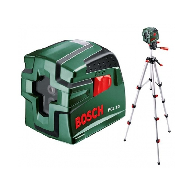 bosch pcl 10 self levelling cross line laser level tripod set 5101 buy tiling tools online. Black Bedroom Furniture Sets. Home Design Ideas