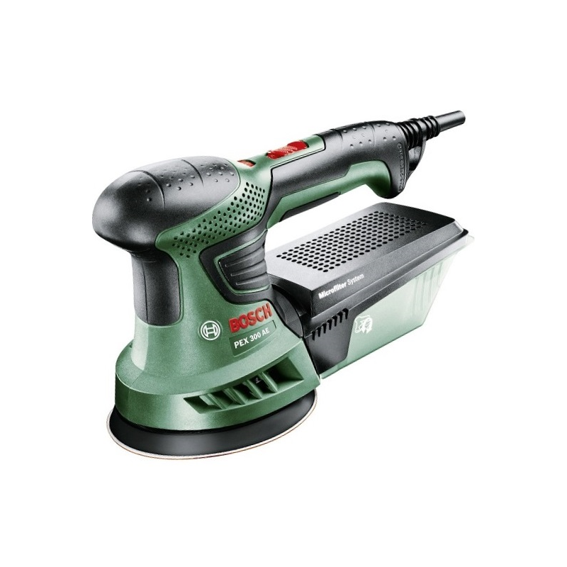 bosch pex 300 ae 270w random orbital sander in carry case. Black Bedroom Furniture Sets. Home Design Ideas
