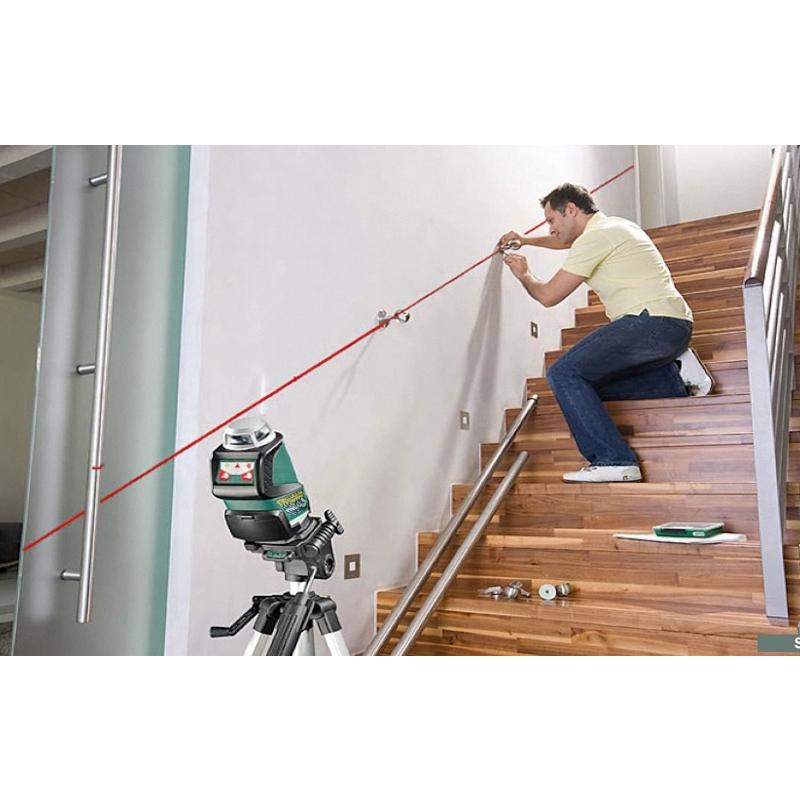 Bosch pll360 laser tripod set tiling diy self levelling ebay for Laser bosch pll 360