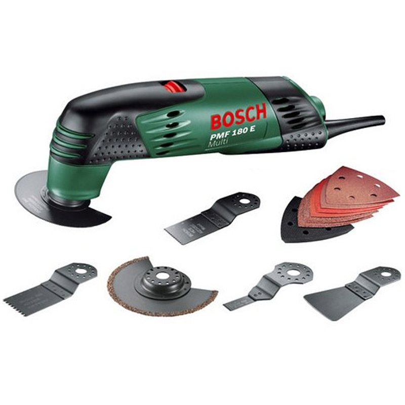 bosch pmf 180 e set multipurpose tool in carry case 240v 1130 buy corded power tools online. Black Bedroom Furniture Sets. Home Design Ideas