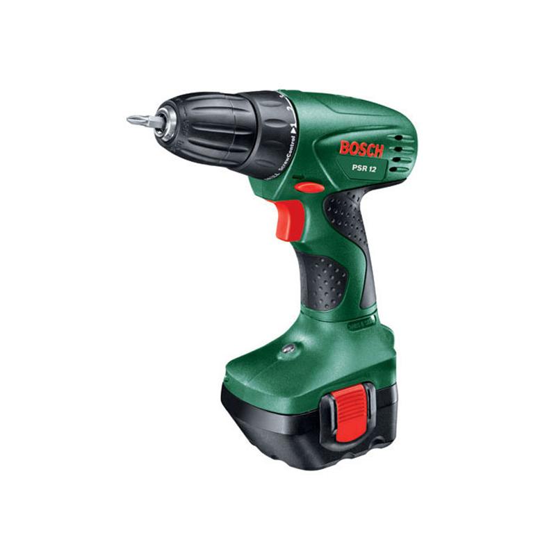 bosch psr 1200 1 batt 12v cordless drill driver 5065 buy cordless power tools online. Black Bedroom Furniture Sets. Home Design Ideas