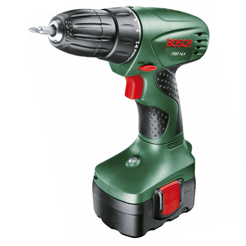 new bosch psr drill driver with battery charger in. Black Bedroom Furniture Sets. Home Design Ideas