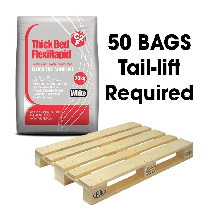 Tilemaster Thick Bed Flexirapid Flexible Rapid Setting Floor Tile