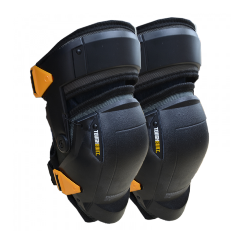 Toughbuilt thigh support knee pads buy ppe online for Knee wall support