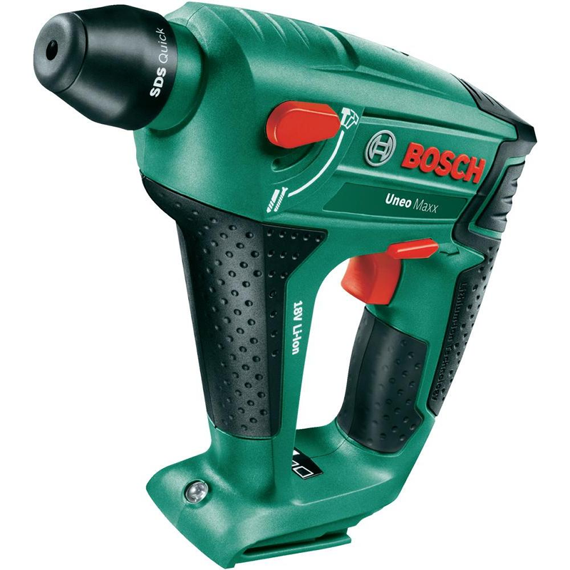 Bosch UNEO Maxx 18V Cordless 3 in 1 Quick SDS Combi Drill Bare Unit